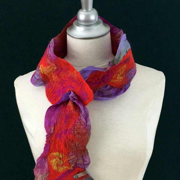 foulard chou-chou - Atelier du luna - Sonya St-Gelais